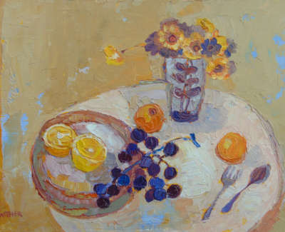 Kirsty Wither Lovely Lemon Oil On Board £425 00Web