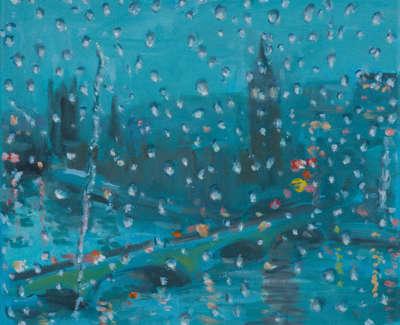 Kondracki London Eye  Mixed Media On Canvas 25 5 X 30 5 Cm £800 00