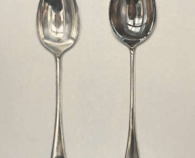 Light And Dark Spoons