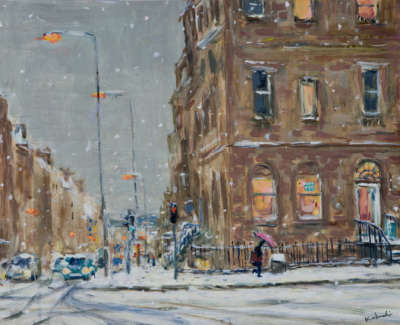 Low Res Kondracki Dundas Street In Snow
