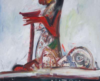 Mizpah Oil On Canvas 1983