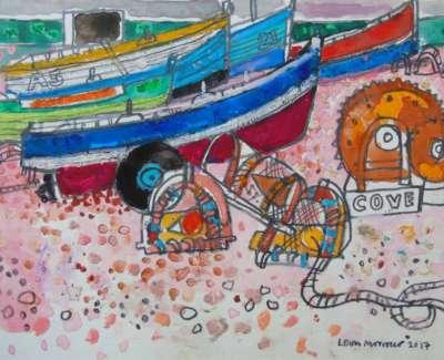 Morrocco Boats At Cove Bay Aberdeenweb