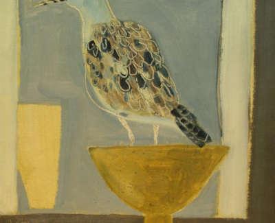 Mustard Bird 40X41Cmweb