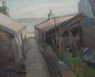 Noust Stromness By N Macdonald