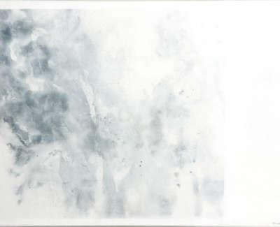 Nearshore Drift  Watercolour On Canvas 60 X 80 Cm £1300 00