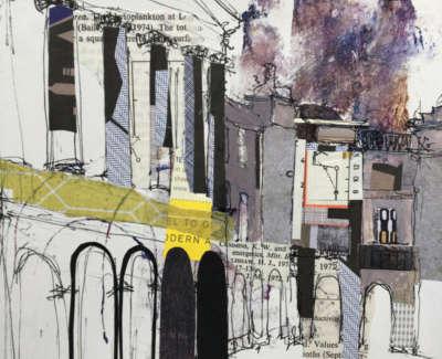 Parliament Square Edinburgh 19 X 18 Cm £325