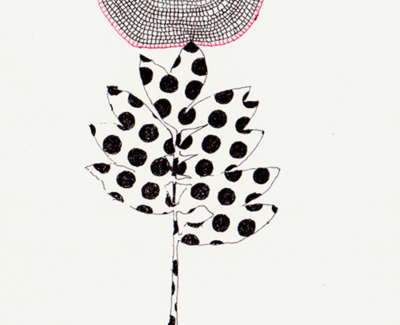 Polka Dot Holiday Pen On Paper 21 5 X 13Cm £195