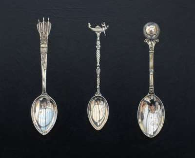 Rachel Ross Three Collectable Spoons