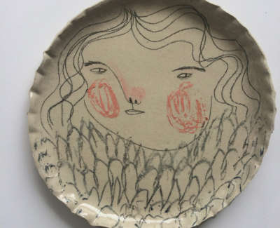 Rebecca Brown  Highlights  Speckled Stoneware Clay 24 Cm D