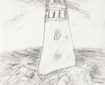 Requiem Pencil On Paper 1985 59X42Cm