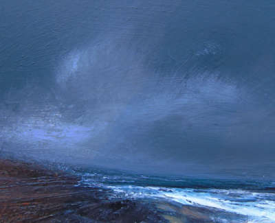Ruth Brownlee Storm Sky By Troswick Mixed Media On Board £285 00Web