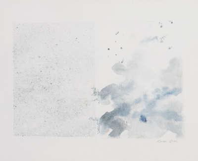 Sea Cloud  Watercolour On Canvas 30 X 40 Cm £800 00