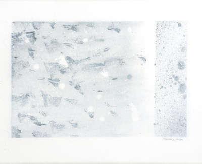 Sea Marks  Watercolour On Canvas 30 X 40 Cm £800 00