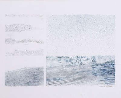 Sea Trace  Watercolour On Canvas 30 X 40 Cm £800 00