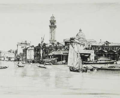 Sir Henry George Rushbury Isola San Pietro Venice