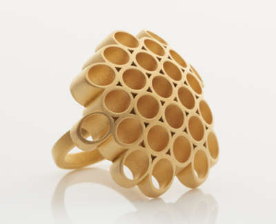 Sophia Ring 18Ct Gold Plate