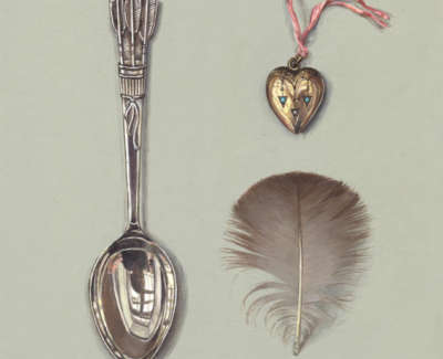 Spoon With Locket