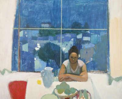 Studio Window In Anticoli