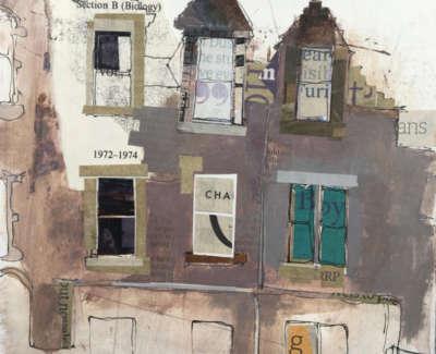 Study Of Marchmont Crescent 19 X 18 Cm £240