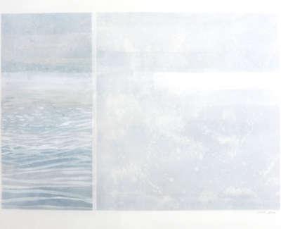 Sunblink  Watercolour On Canvas 58 X 78 Cm £1200 00