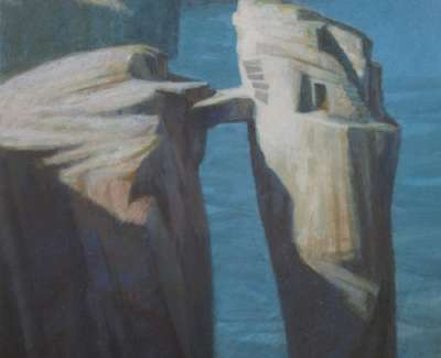 The Hermit Of Yesnaby By Nmacdonald