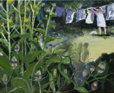 Teasels And Washing