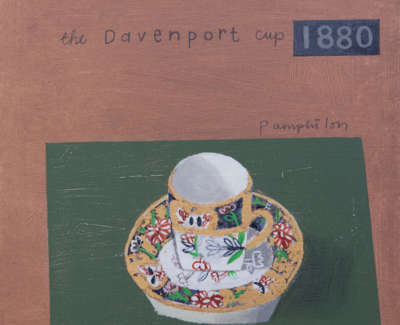 The Davenport Cup 1880 Mixed Media On Wooden Panel 30 X 30 Cm Uf £950