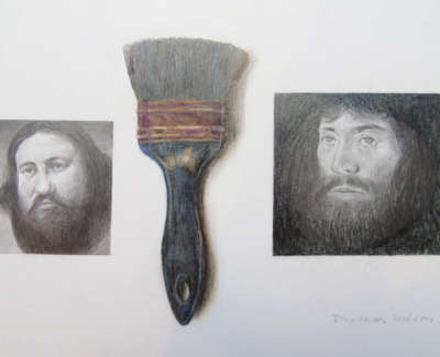 Thomas Wilson Brush Drawing Pencil And Crayon £175 00Web