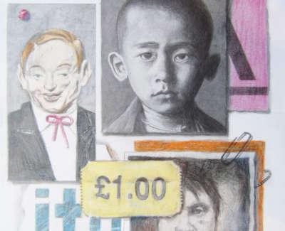 Thomas Wilson Studio Pin Board Pencil And Crayon £175 00Web