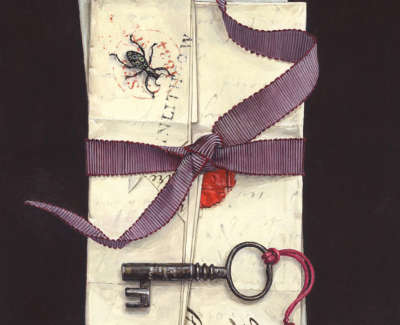 Tied Letters Tasselled Key