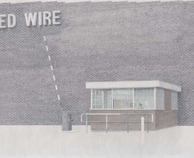 United Wire Pencil On Paper 84 X 60 Cm