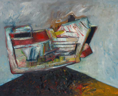 Untitled Oil On Canvas 1980C 116 5 X 160 Cm