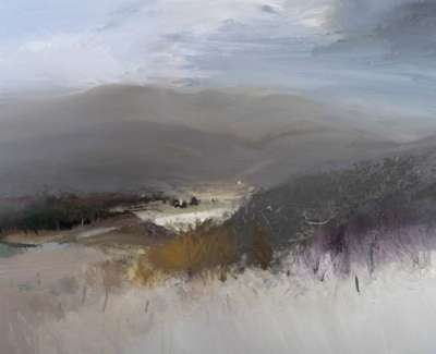 Up On The High Ground Braemar Oil On Canvas 150 X 120