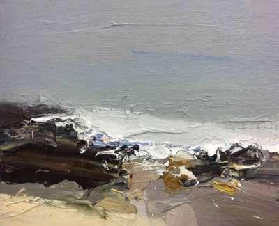 Winter Sea Rocky Foreshore Web