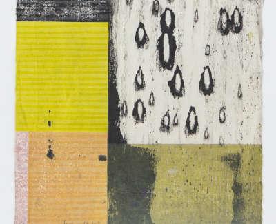 Black Rain Ii  Mokuhanga 22 X 21 5 Cm £350 00
