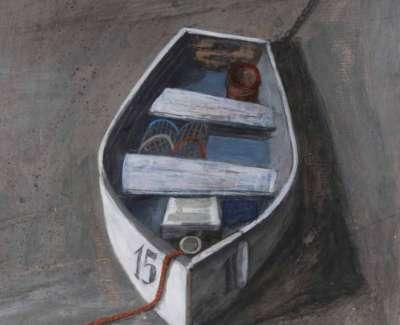 Boat Waiting On The Sandweb