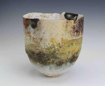 Pinched Coiled Bowl 20X18Cmweb