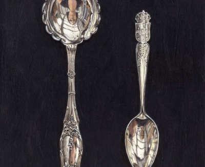 Two Fancy Spoons 200X160Mm