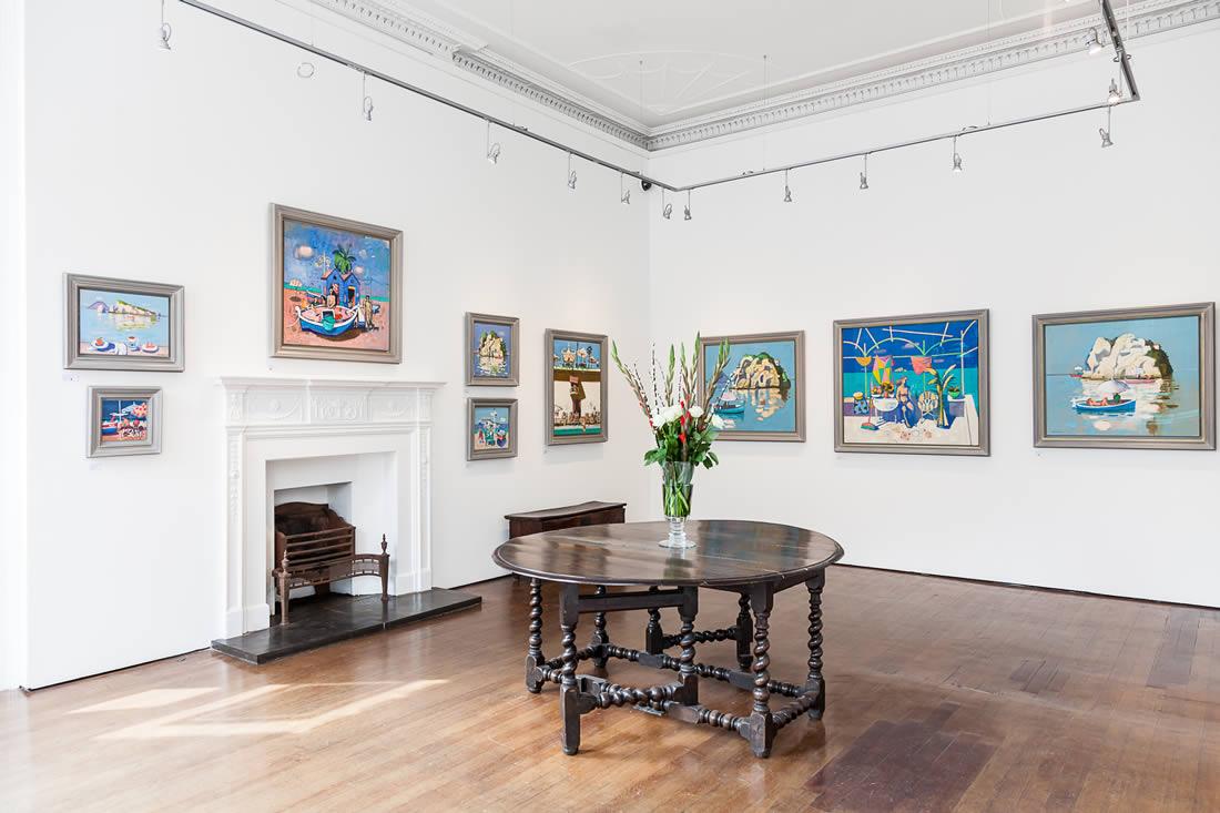 Open Eye Gallery, commercial art gallery, Edinburgh