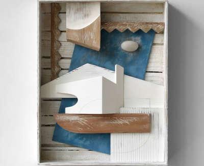 Malcolmson  A  Brancusis Studio Mixedmediaconstruction 27Z21X4  Sold