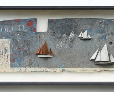 Malcolmson A Resolute Leith Mixedmediaboxconstruction 55X133X12