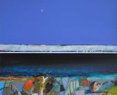 Dunbar Mc Intosh  Archie Rswrgi  Winter Foreshore Acryliconcanvas  305X28Cm  Sold