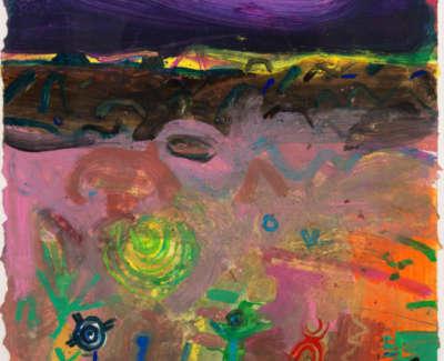 100 Rae Barbara Painted Desert Iarizona Mixedmediaonpaper 1999 103X74