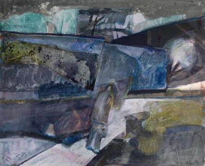 14 Rae Barbara Culzean Mixedmediacollageonpaperonboard 1979 46X55