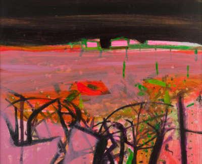 77 Rae B Vaucluse Field Mixedmedia 103X75