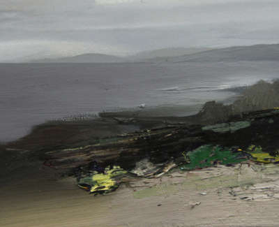 Bushe C Atouch Of Green And Afreshening Light Killinallan Oil On Paper 36X26