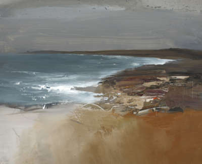 Bushe C Blustery September Day Coul Point Mixed Media 74X51
