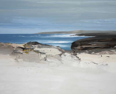 Bushe C Late Summer Sanaigmore Oil On Canvas 100X138