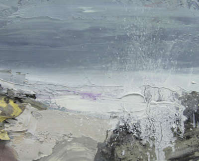 Bushe C Sea Spray Saligo Bay Oil On Board 20X28