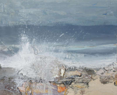 Bushe C Surging Tide Islay Oil On Board 36X36